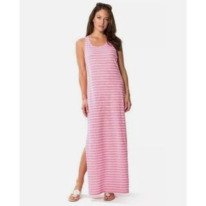Sail To Sable Jetting to Jetties Pink Maxi Dress